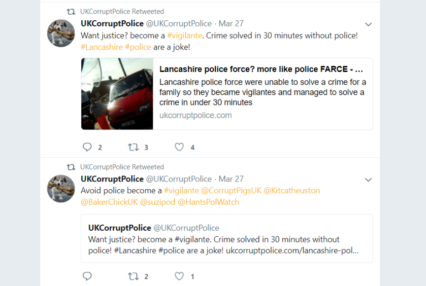 UKCorruptPolice (@UKCorruptPolice)paulponting